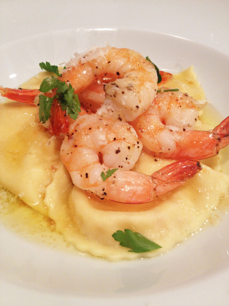 ... and caramelized marsala shallots with a shrimp butter | Eatentions