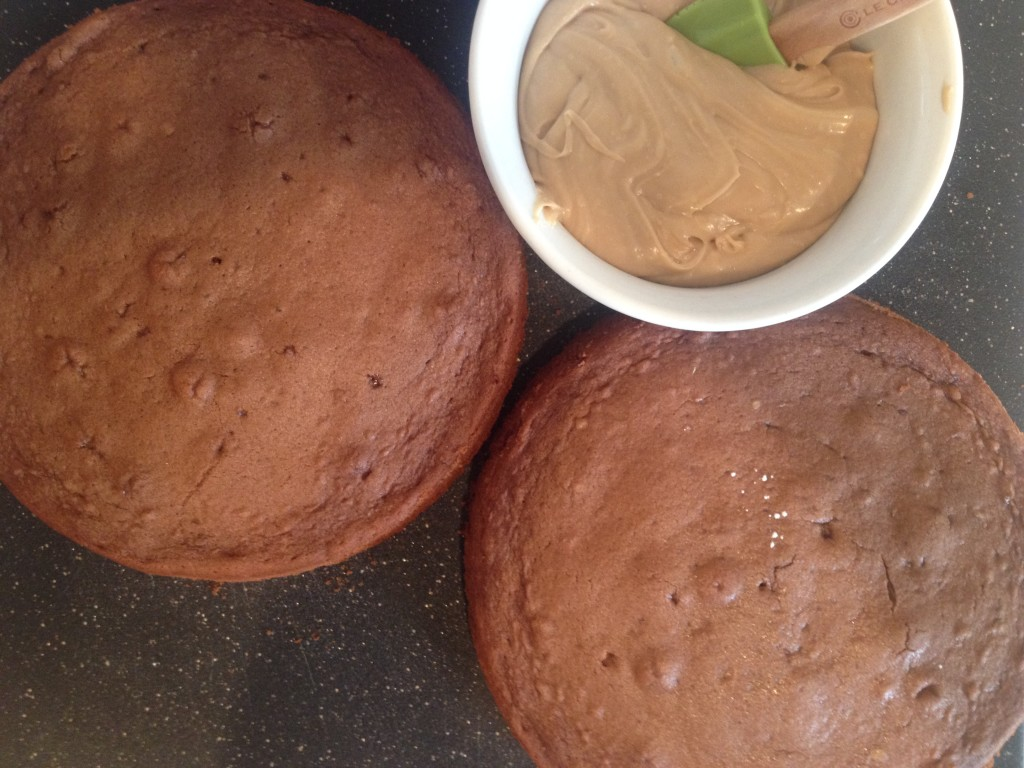 Molka Cake with Penuche Frosting 1