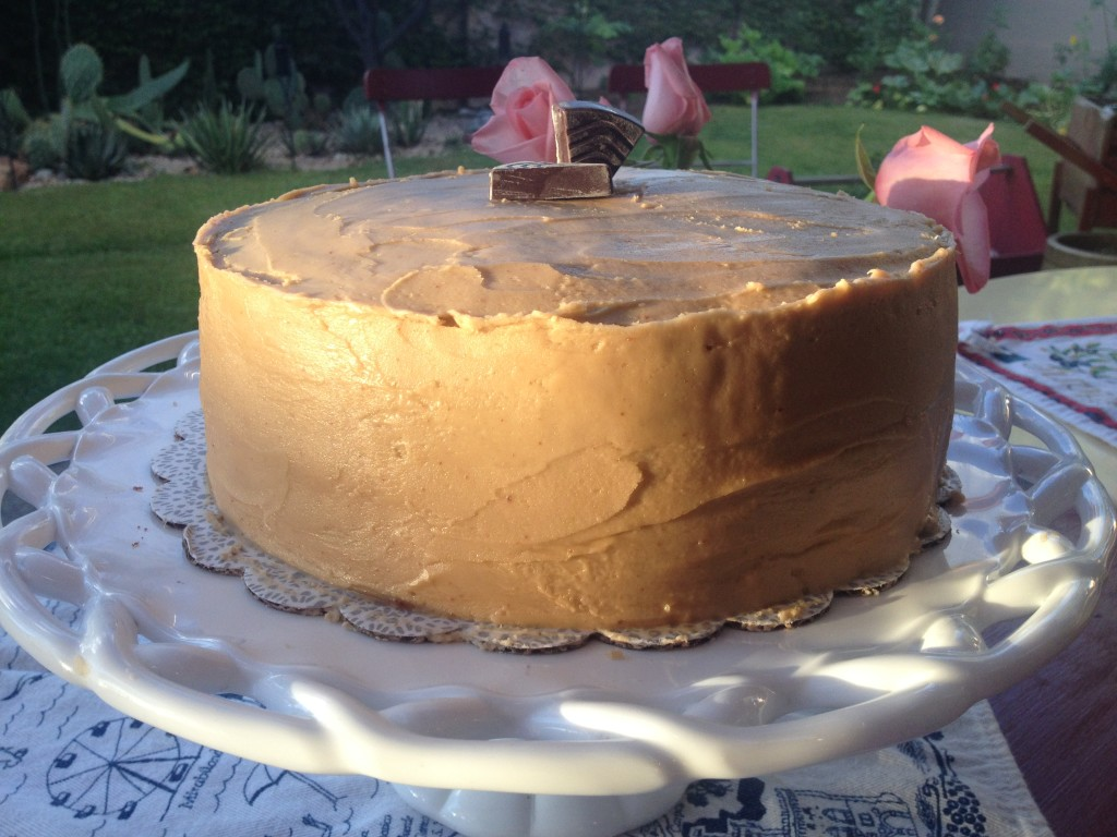 Molka Cake with Penuche Frosting 3