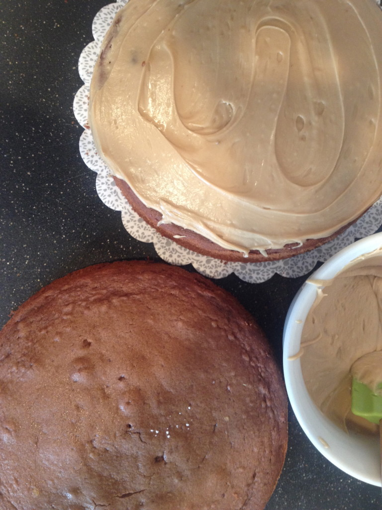 Molka Cake with Penuche Frosting 5