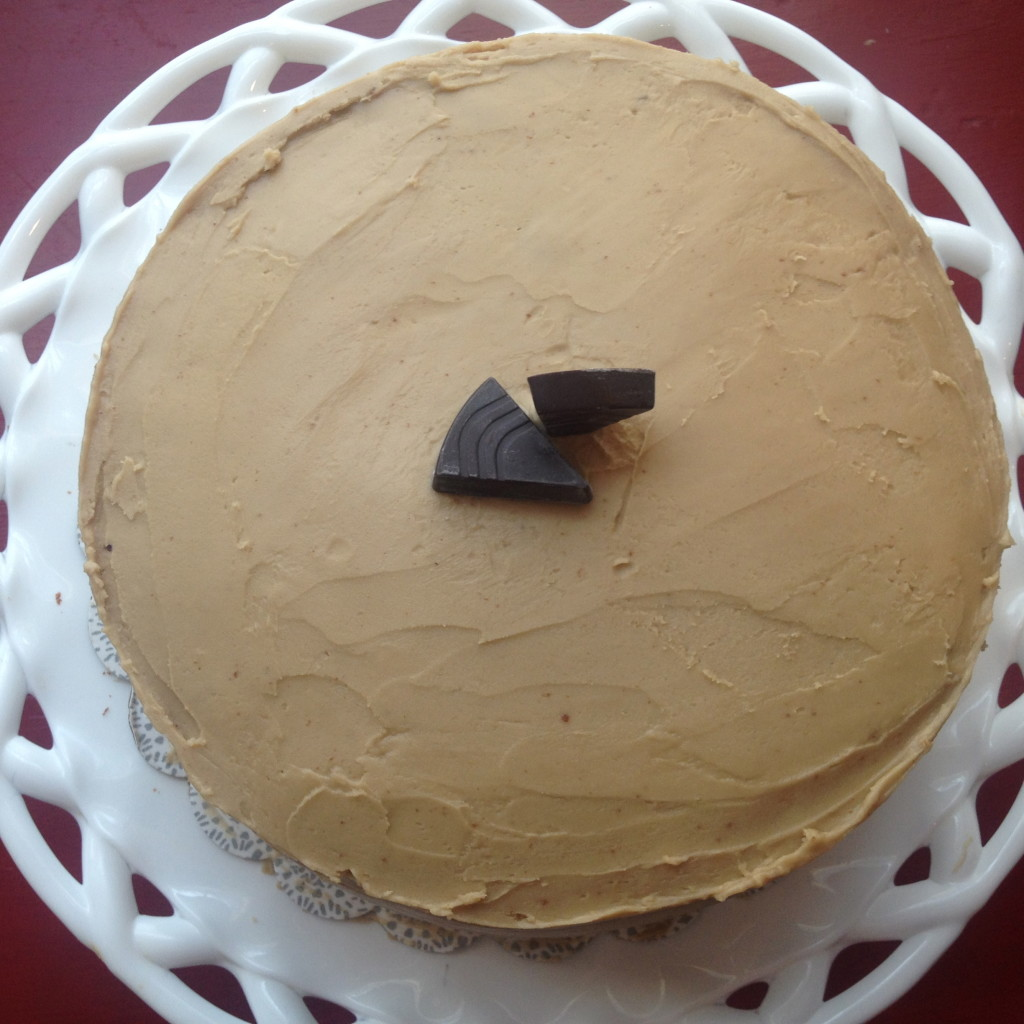 Molka Cake with Penuche Frosting 6