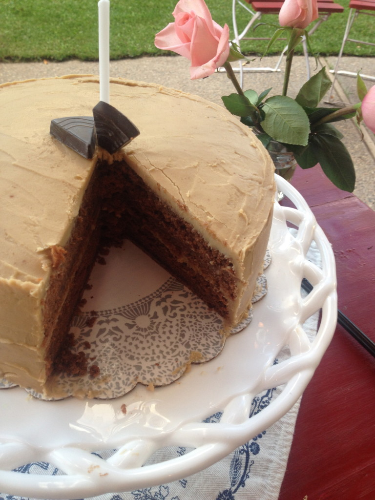 Molka Cake with Penuche Frosting 9