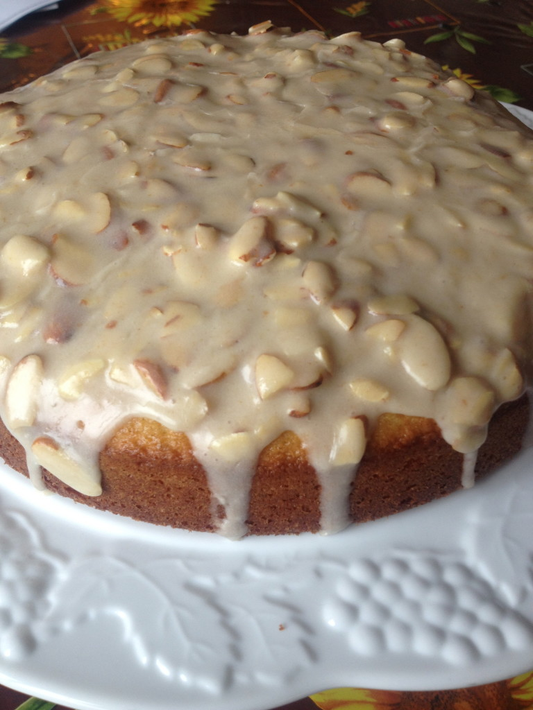Almond Olive Oil Cake with Brown Butter Glaze 1