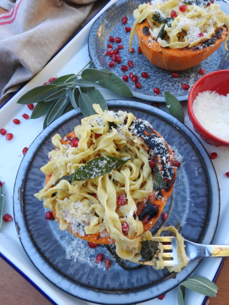 Fettuccine with Butter and Sage